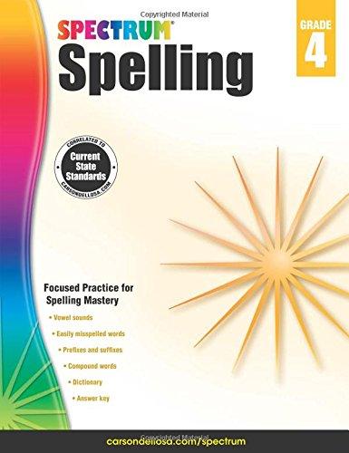 Workbook 2nd grade spelling worksheets : Spectrum Spelling, Grade 4: Spectrum: 0044222239732: Amazon.com: Books