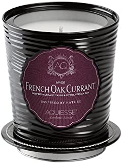 product image for Aquiesse Fine Scented Portfolio Tin Candle - French Oak Currant 11oz
