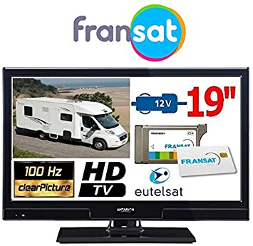 atvlt20fransat - TV Camping Car antarion LED HD 19 49 cm 12 ...