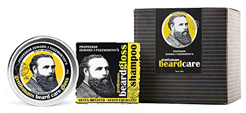 Hemp Sculpting Pomade (Beard Care Kit Professor Fuzzworthy Beard Care Conditioner Balm & Best Beard Shampoo Bar | 100% Natural Chemical Free | Organic Essential & Kunzea Oils | Leatherwood Honey Made in Tasmania Australia)