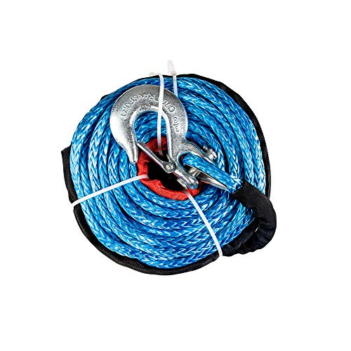 "X-BULL SK75 3/8"" x 100ft Dyneema Synthetic Winch Rope with"