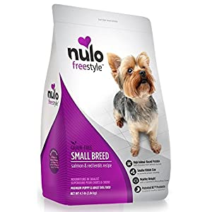 Nulo Small Breed Grain Free Dry Dog Food With Bc30 Probiotic (Salmon And Red Lentils Recipe, 11B Bag) 36