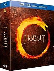 Le Hobbit - La Trilogie - Coffret Blu-Ray [Combo Blu-ray + DVD + Copie digitale]