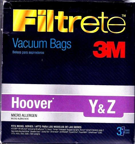 3M Hoover Y&Z Micro Allergen Bag