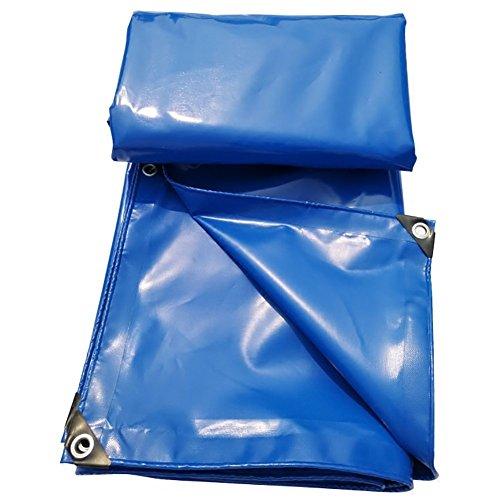 クリーナー全員呼吸GUOWEI-pengbu ターポリン キャンバス シェード 日焼け止め 防水 不凍液 老化防止 耐摩耗性 屋外 個人的なカスタマイズ (色 : Blue, サイズ さいず : 3.9x5.9m)