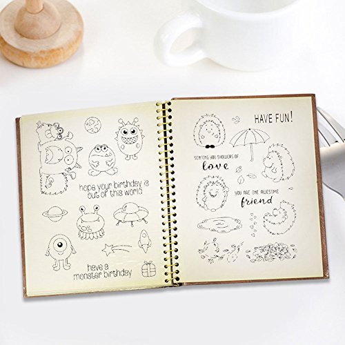 Qweryboo Animal frame stamp dies Transparent clear stamp craft stamp for Card Making Decoration and Scrapbooking (tree climbing bear) by Qweryboo (Image #2)