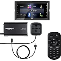 JVC KW-V320BT 6.8 Touchscreen BT Stereo with Included SiriusXM tuner, Remote, and Lightning Cable
