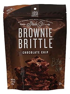 Dot-Grocery SheilaGsChoc Chip Brownie Brittle,2.75oz