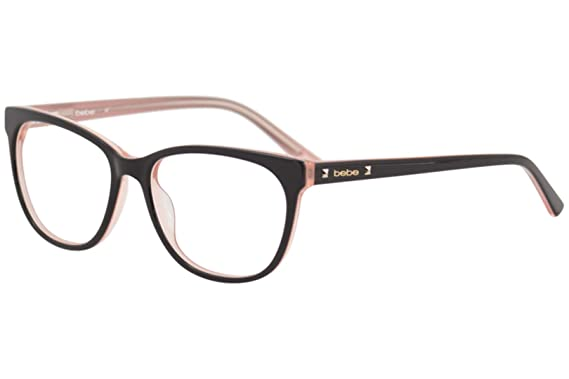 fc7d845da6e1 Eyeglasses bebe BB5108 BB 5108 Topaz at Amazon Men's Clothing store: