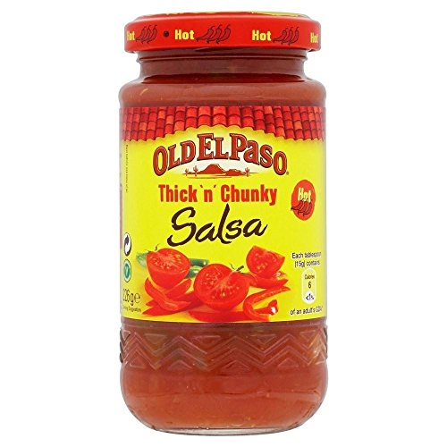 Old El Paso Thick 'n' Chunky Hot Salsa (226g) - Pack of 2