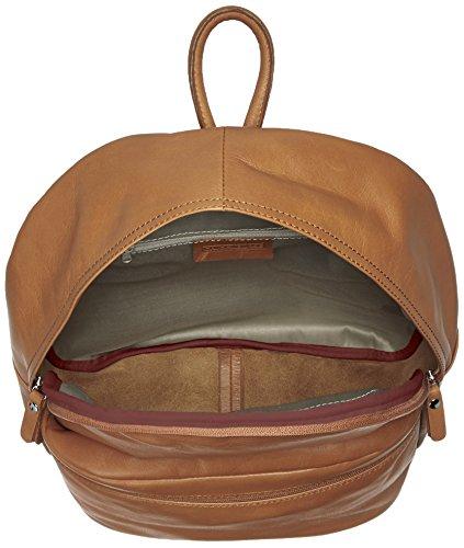 100 Fabriqué en CTM Italie 30x39x14cm cuir Gris Fango en cuir unisexe à sac dos véritable 0pUpvPxqw