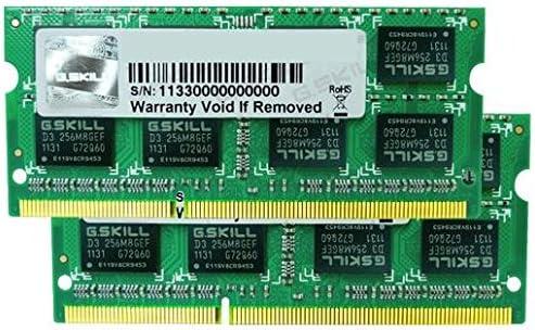 Imagen deG.Skill FA-8500CL7D-8GBSQ - Kit de memoria RAM (2 x 4 GB, PC3-8500, DDR3, 1066 MHz)