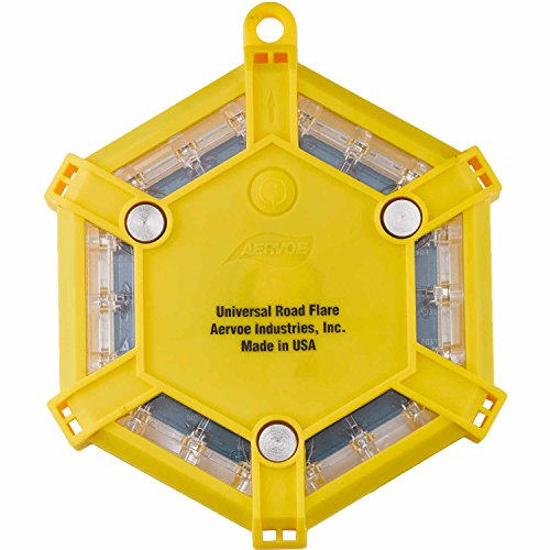 Aervoe Led Road Flare Kit, Yellow by Aervoe
