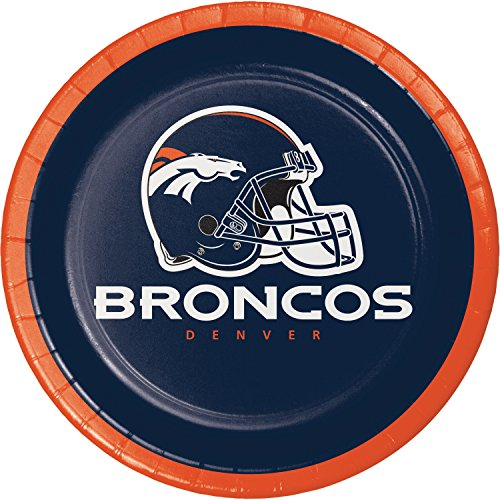 Denver Broncos Dessert Plates, 24 ct for $<!--$12.90-->
