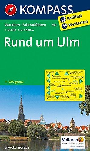 Rund um Ulm: Wanderkarte mit Radwegen. GPS-genau. 1:50000 (KOMPASS-Wanderkarten, Band 789) Landkarte – Folded Map, 1. August 2014 KOMPASS-Karten GmbH 3850264874 Alpinismus Berg / Bergsteigen
