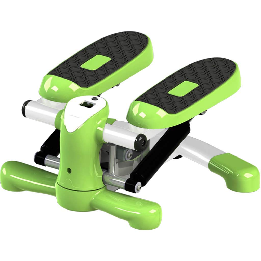 Swing Stepper Multifunctional Weight Loss Stovepipe Fitness for Beginners and Advanced Users, Small & Compact Including Powerful Hydraulic Rod UltraLarge PVC Pedals Load 120KG