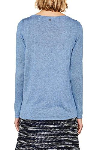 Esprit, Pull Femme Bleu (Light Blue 5 444)