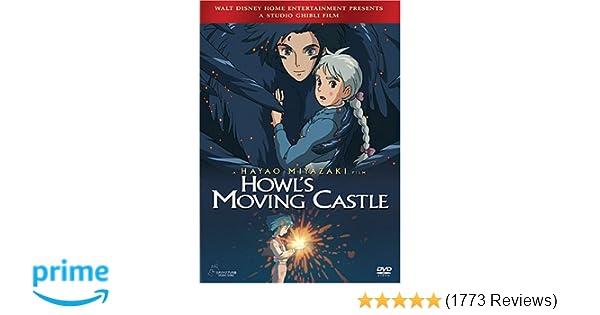 Amazon com: Howl's Moving Castle: Jean Simmons, Christian Bale
