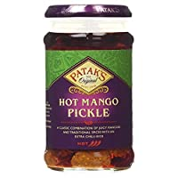 Patak's Hot Mango Pickle - 283g (pack of 2)