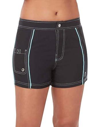 ff39e2fa81 Free Country Women's Woven Stretch Swim Short at Amazon Women's Clothing  store: