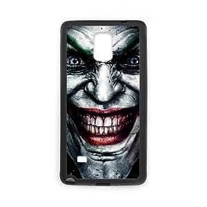 Samsung Galaxy Note 4 funda [Negro] El Joker [Personalizado] [Tema] LH1766