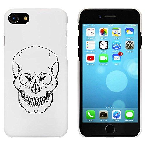 Blanc 'Crâne Avant Tournant' étui / housse pour iPhone 7 (MC00056216)