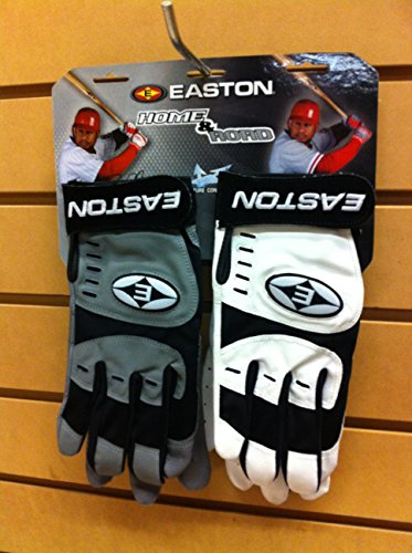 Easton Adult Home & Road - Grey/Black - Road Adult Batting Glove