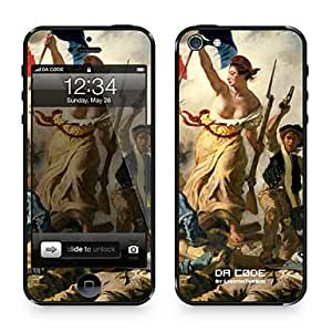 """Da Code ? Skin for iPhone 4/4S: """"Liberty Leading the People"""" by Eug¨¨ne Delacroix (Masterpieces Series)"""