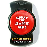 SMASH MUTE...The Big, Fat TV Mute Button (a.k.a. Your Happy Button)