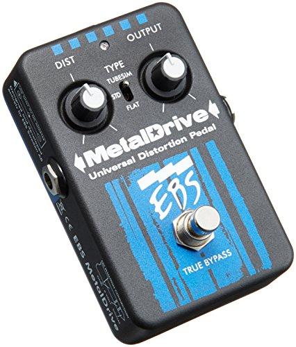 EBS Metal Drive High Gain Bass Distortion Overdrive Pedal