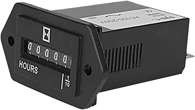 Resettable Electromechanical Hour Meter