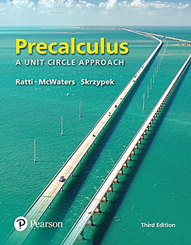 Mymathlab With Pearson Etext    Standalone Access Card    For Precalculus  A Unit Circle Approach  3Rd Edition