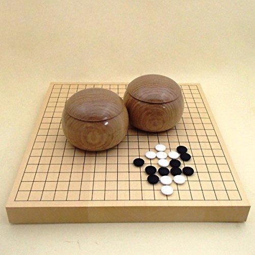 囲碁セット 碁笥楢(なら)大33号の3点セットの商品画像