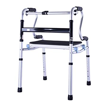 Andador ultra estrecho con ruedas, andador para adultos, altura ...