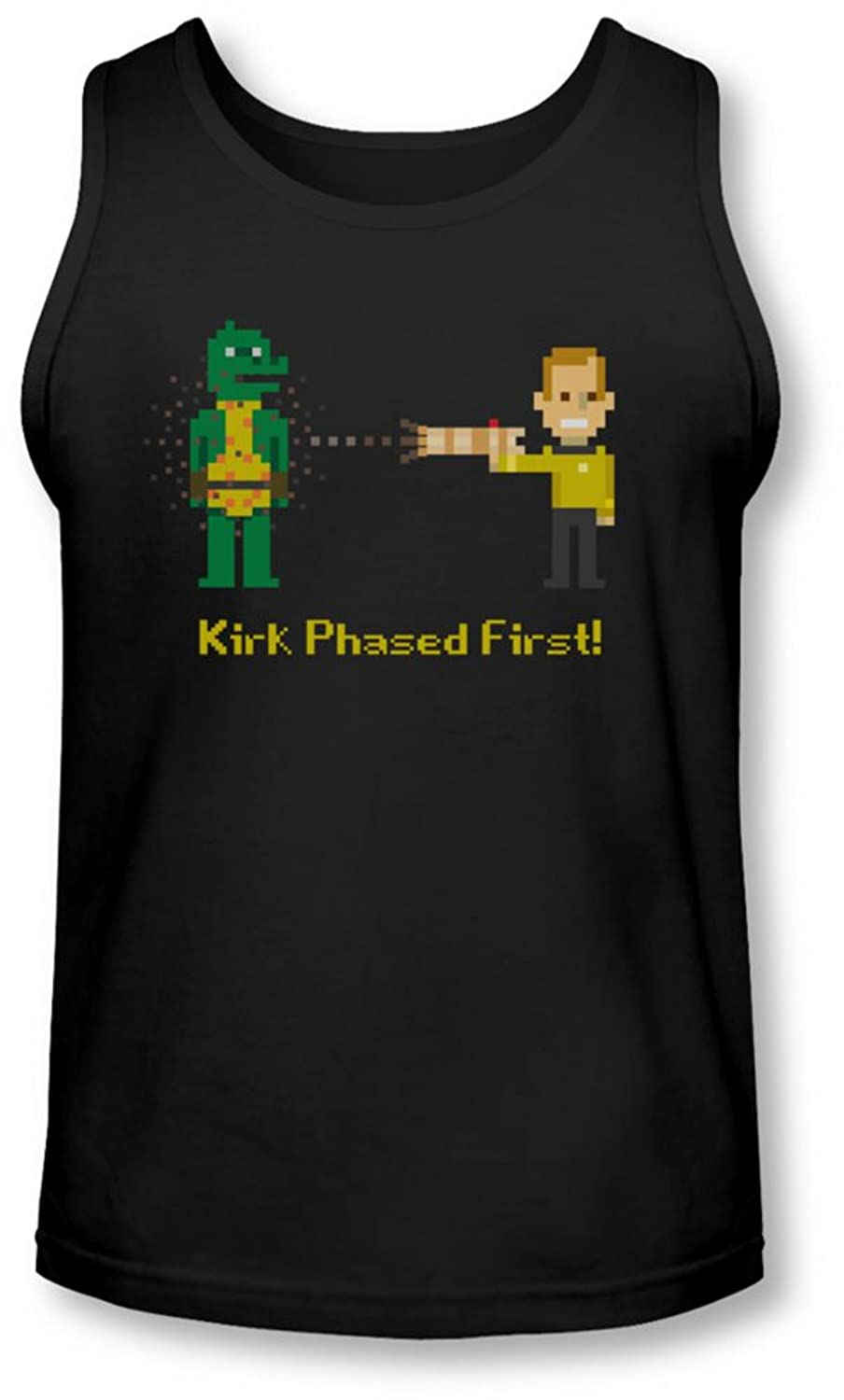 Star Trek - Mens Kirk Phased First Tank-Top