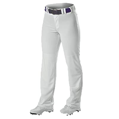Alleson GIRLS WIDE LEG YOUTH SOFTBALL PANTS FASTPITCH PANT 605WLPG