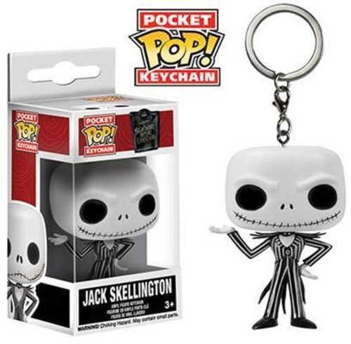 Nightmare Before Christmas - Jack Skellington Funko Pocket Pop! Keychain: FUN5315 Accessory Toys & Games