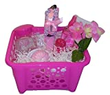 Pink Pretty Passion April Bath & Shower Scented Body Lotion Bath & Body Works Mother's Day Women's Gift Basket Bundle Set