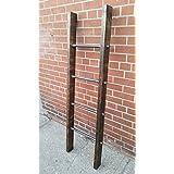 Pipe Wood Blanket/Towel Ladder (6