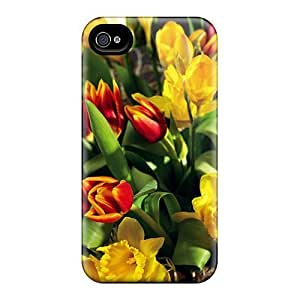 Flexible PC Back For Case Ipod Touch 4 Cover - Beautiful Arrangement Of Flowers