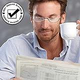 Reading Glasses Men - Half Frame Readers - Pack of