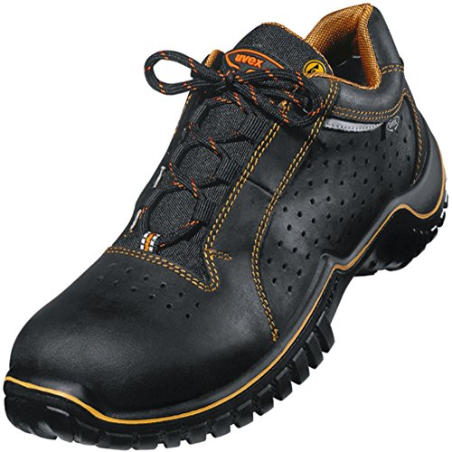 Zapato de seguridad S 1perforado tamaño 42, nubukle
