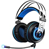Livoty SADES A7 7.1 Stereo Surround Gaming Headset Headband MicHeadphone