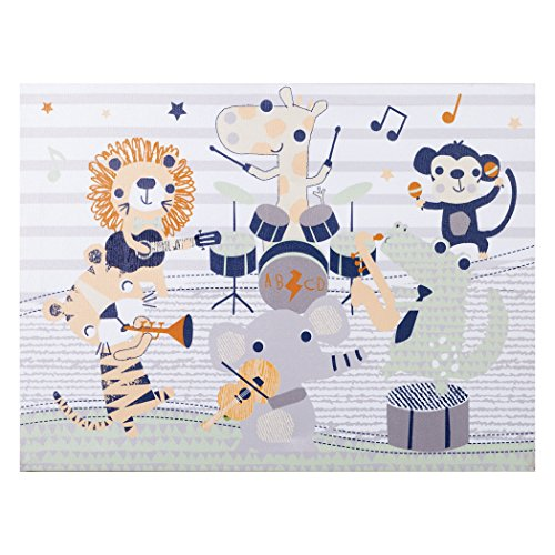 Trend Lab Safari Rock Band Canvas Wall Art - 102724