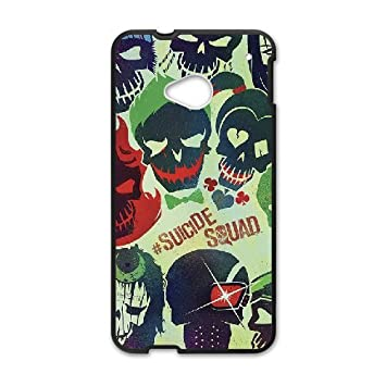 HTC One M7 Cell Phone Case-black_Manga Box Custom Joker ...