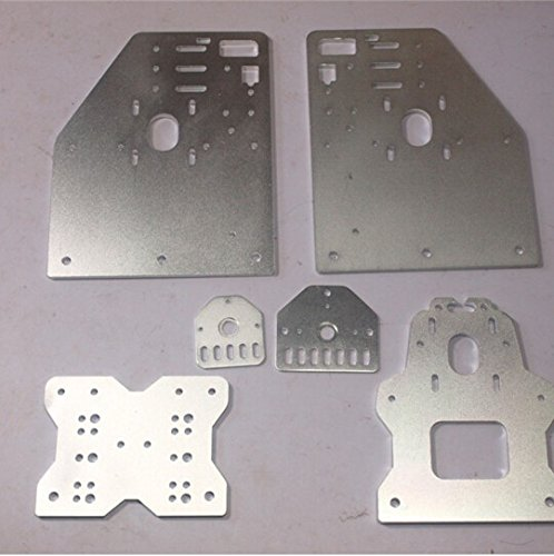 WillBest OX CNC Machine Parts Openbuilds OX CNC Aluminum Gantry Plates with Universal Threaded Rod Plates