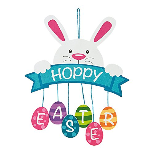 Hoppy Easter Mobile Sign Craft Kit