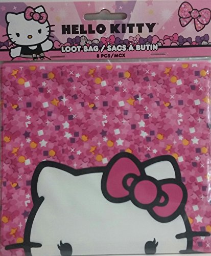 (Hello Kitty 8 PCS Loot Bag)