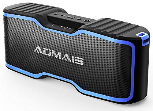 (AOMAIS Sport II+ Bluetooth Speakers, Portable Outdoor Wireless Speaker, 30H Playtime, 20W HD Stereo Sound & Richer Bass, IPX7 Waterproof, 100ft Bluetooth for Travel, Party, Beach【2019 Upgrade Version】)