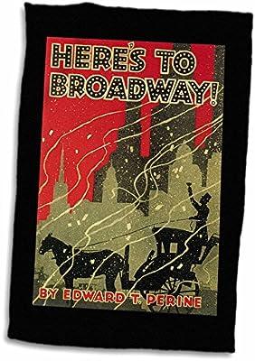 15 x 22 3D Rose Broadway Towel